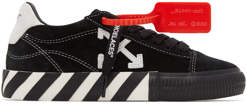 Off-White 黑色 & 白色 Arrows 硫化运动鞋