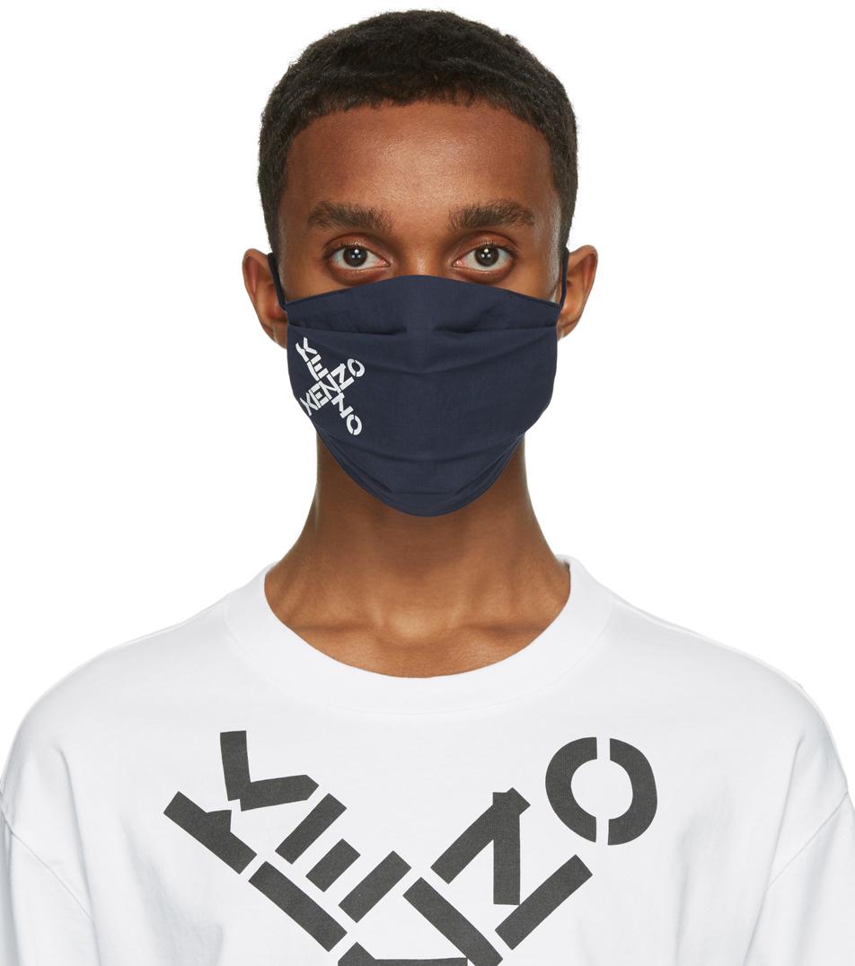 Kenzo 三件装多色 Sport 徽标口罩