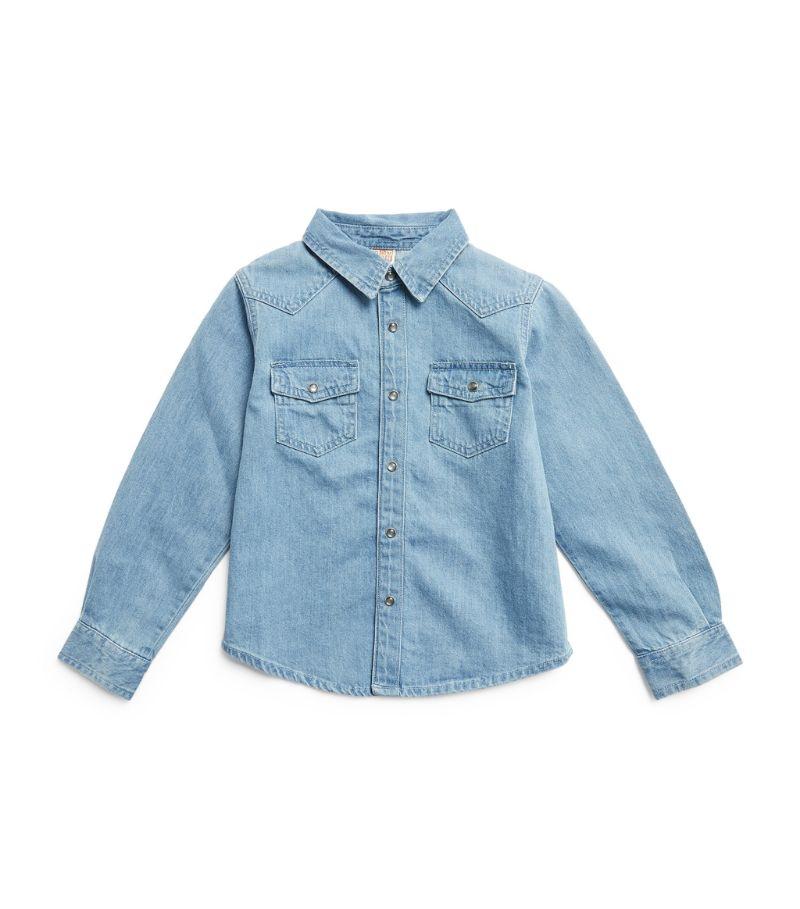 Bonton Denim Shirt (4-12 Years)