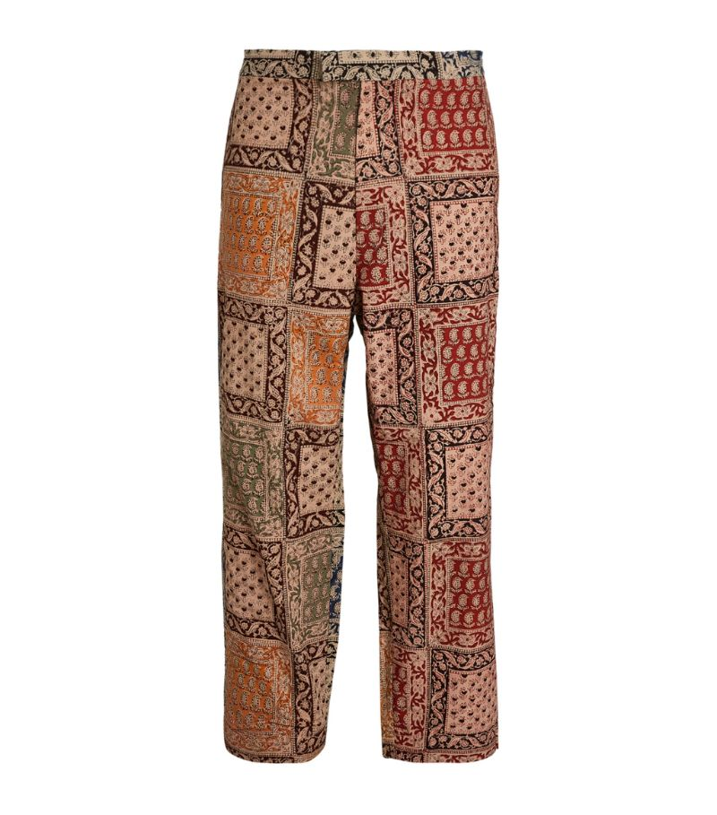 Beams Plus Handkerchief Print Trousers