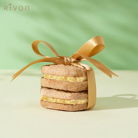 【Rivon禮坊】達克瓦茲-法式百香(6入禮盒)