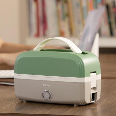 *KINYO 多功能電子便當盒-綠ELB-5030G
