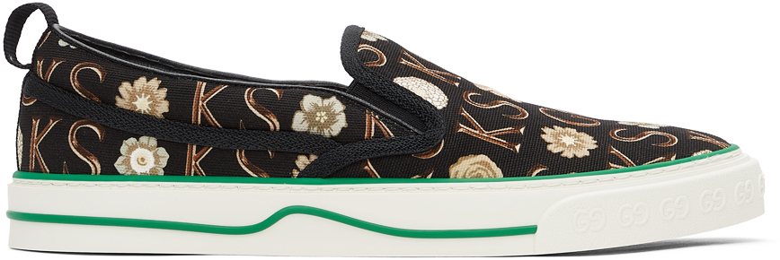 Gucci 黑色 Ken Scott 联名 Gucci Tennis 1977 运动鞋