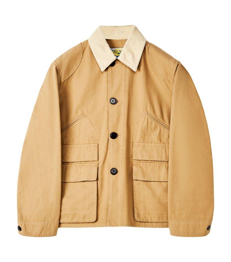 Loewe Contrast-Collar Jacket