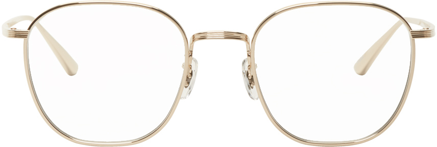 Oliver Peoples The Row 金色 Board Meeting 2 眼镜