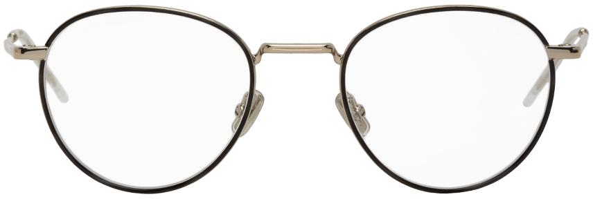 Dior Homme 银色 & 黑色 Dior213 眼镜