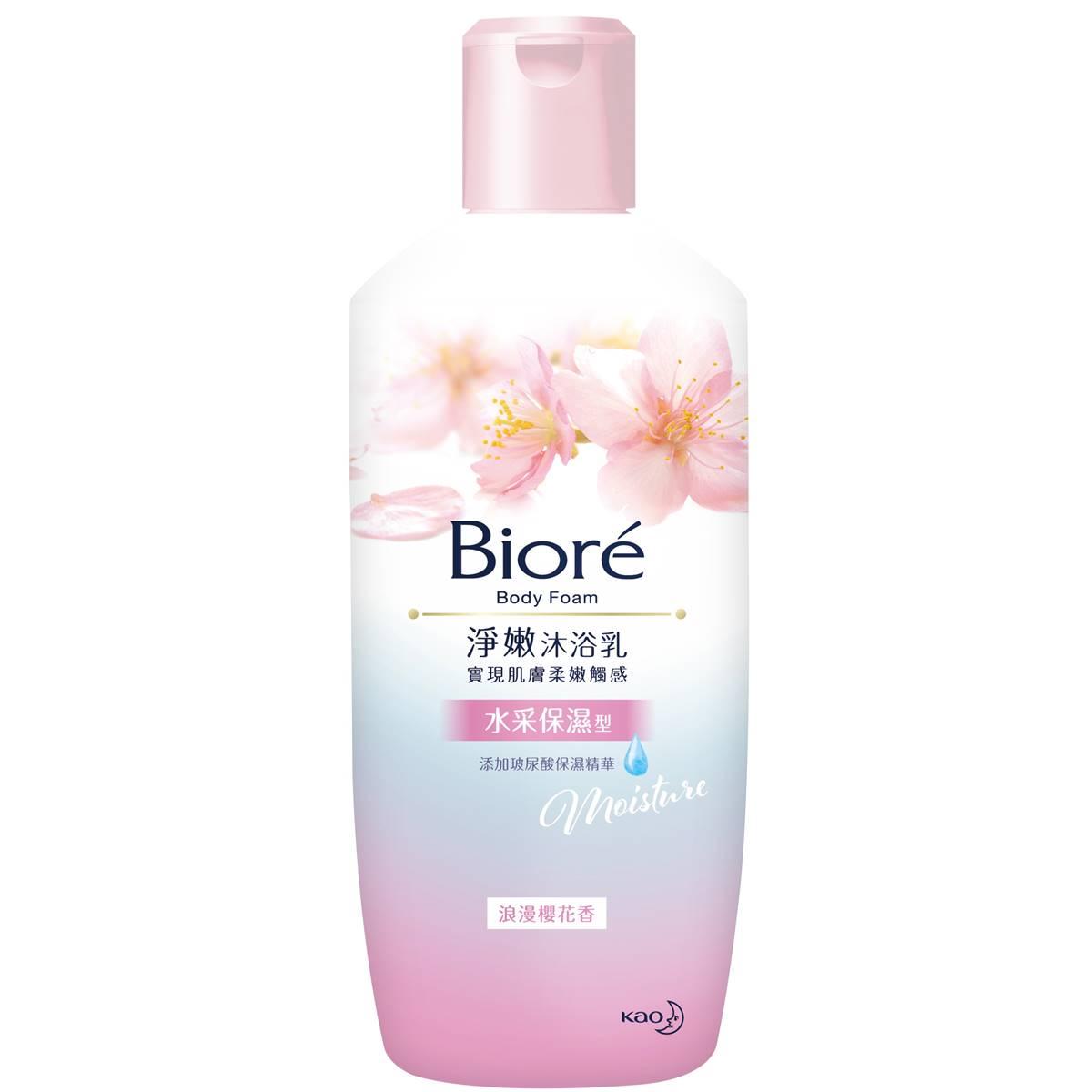 蜜妮Biore淨嫩沐浴乳浪漫櫻花香水采保濕型300g【康是美】