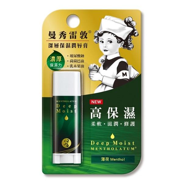 Mentholatum 曼秀雷敦深層保濕潤唇膏-薄荷【康是美】