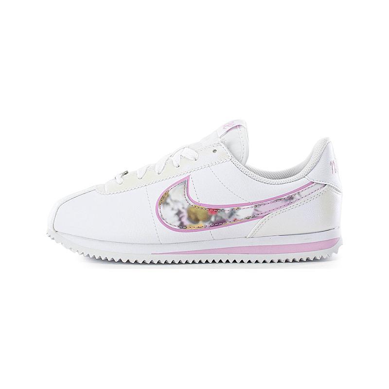 搶券滿千折100↘ | 帝安諾-實體店面Nike 阿甘 Cortez Basic SE 白色 花朵 花卉 粉色 淺粉【女鞋】CN8145-100▶SUPER SALE 樂天購物節↘超取499免運