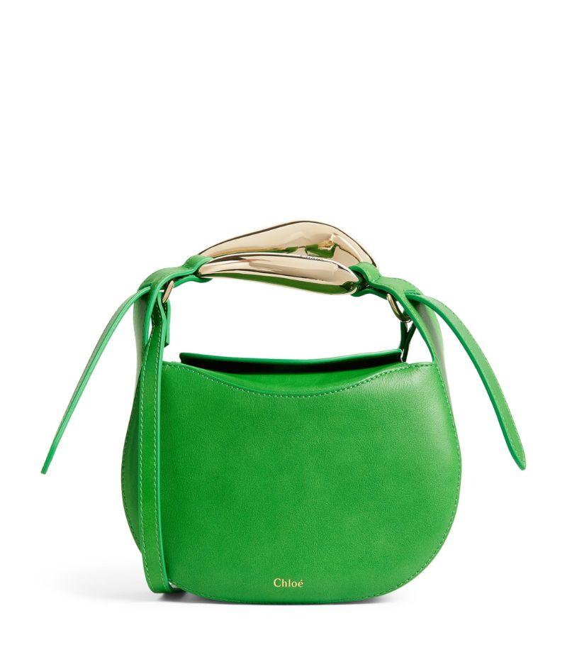 Chloé Small Leather Kiss Top-Handle Bag