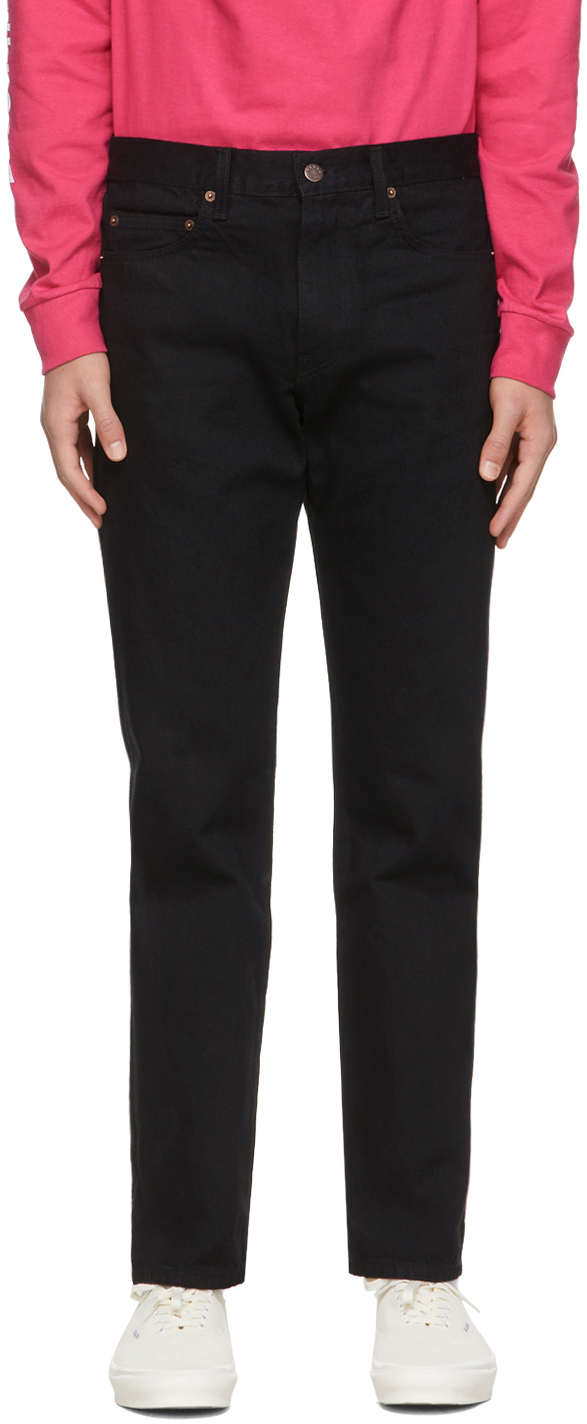 Noah NYC 黑色 Five-Pocket 牛仔裤