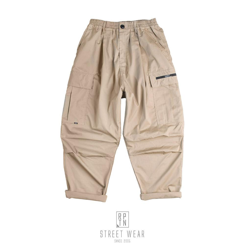 REPUTATION Smock Pants / D - PANT.SS - RPTN 20SS 寬版軍褲 卡其