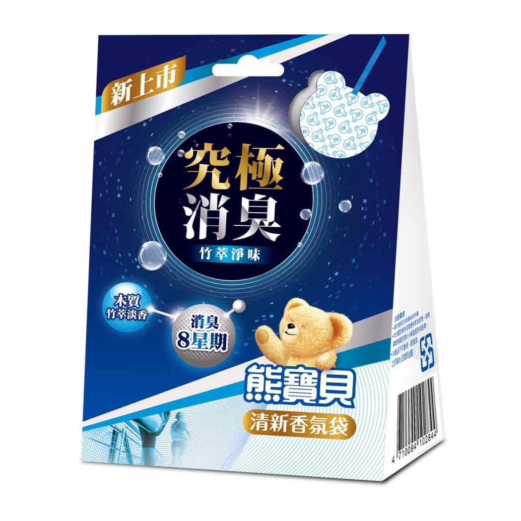 熊寶貝清新香氛袋竹萃淨味21G 【康是美】