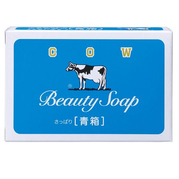 日本牛乳石鹼香皂藍盒 【康是美】