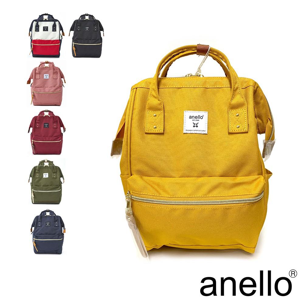 anello 新版基本款2代R系列~經典口金後背包 Small size(ATB0197R)~防潑水強化 新色到