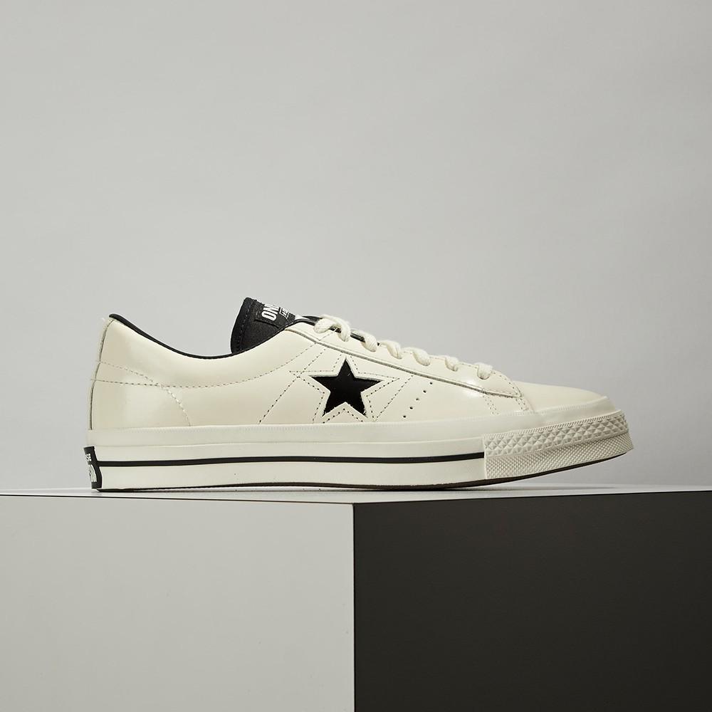Converse One Star HanByeol 男女鞋 米白 漆皮 皮革 休閒鞋 167324C