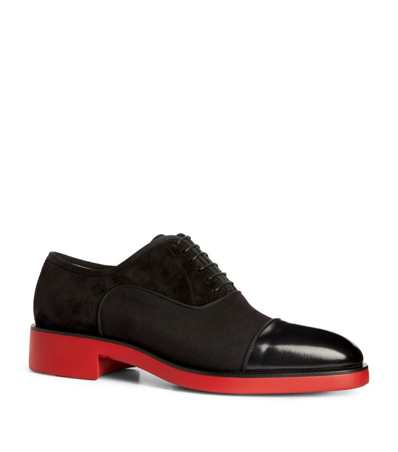 Christian Louboutin Greggo Rxl Leather Oxford Shoes