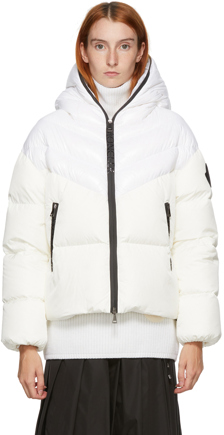 Moncler 白色 Guenioc 羽绒大衣