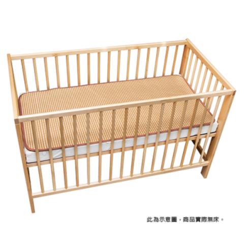 媽咪小站3D天然纖維柔藤墊-嬰兒床墊專用L