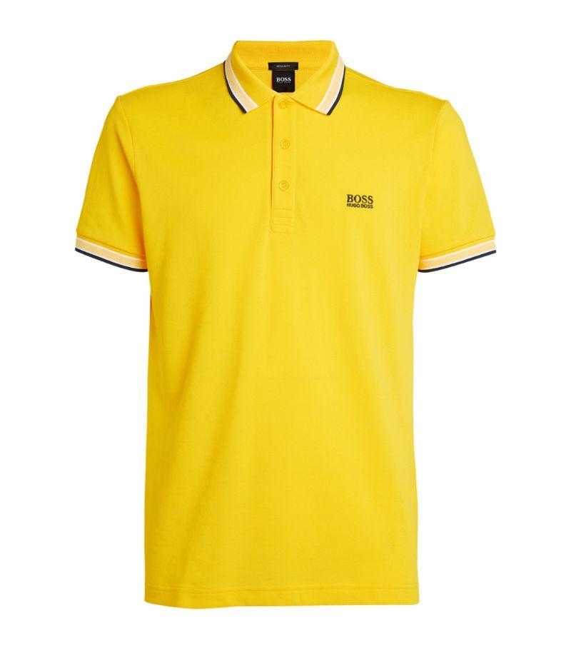 Boss Contrast-Trim Polo Shirt