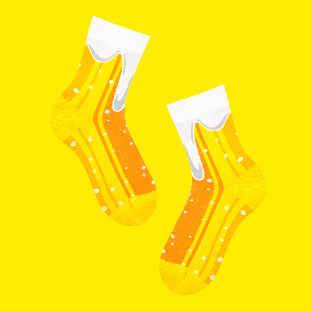 sokker 香沫啤酒 4分之3襪