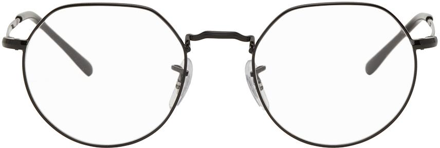 Ray-Ban 黑色 Jack 眼镜