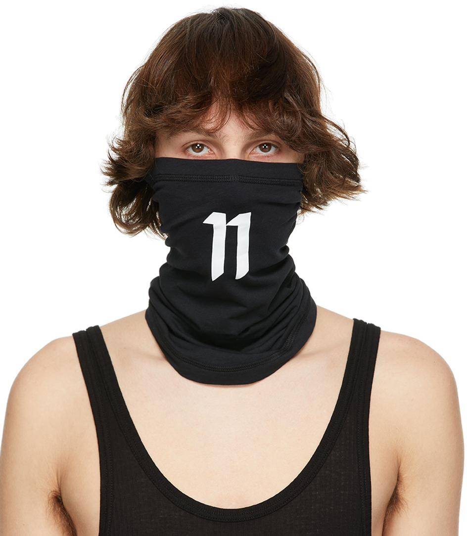 11 by Boris Bidjan Saberi 黑色 Braga1 Logo 11 围脖