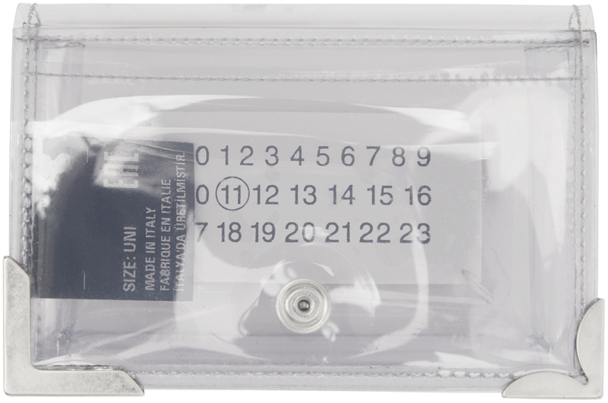 Maison Margiela SSENSE 独家发售透明 PVC 钱包