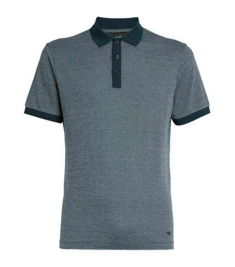Emporio Armani Contrast Polo Shirt