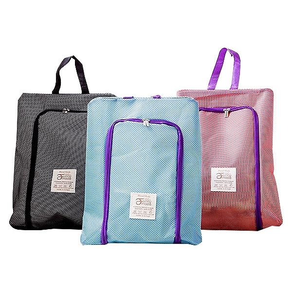 網格防水收納鞋袋(1入) 顏色隨機出貨【小三美日】