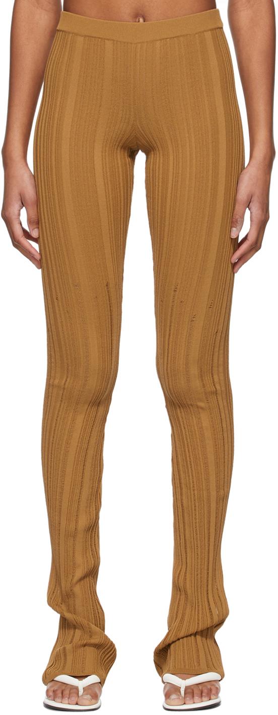 Marco Rambaldi SSENSE 独家发售棕色针织长裤