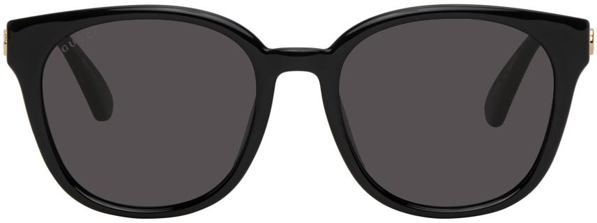 Gucci 黑色 Injection 方框太阳镜