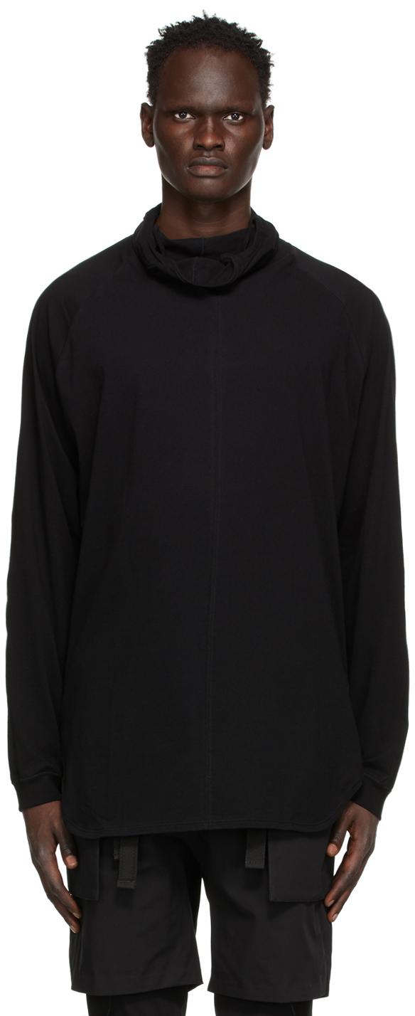 The Viridi-anne 黑色 Mask 长袖 T 恤