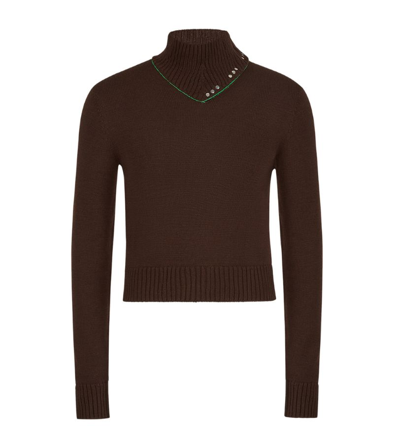Bottega Veneta Wool Rollneck Sweater