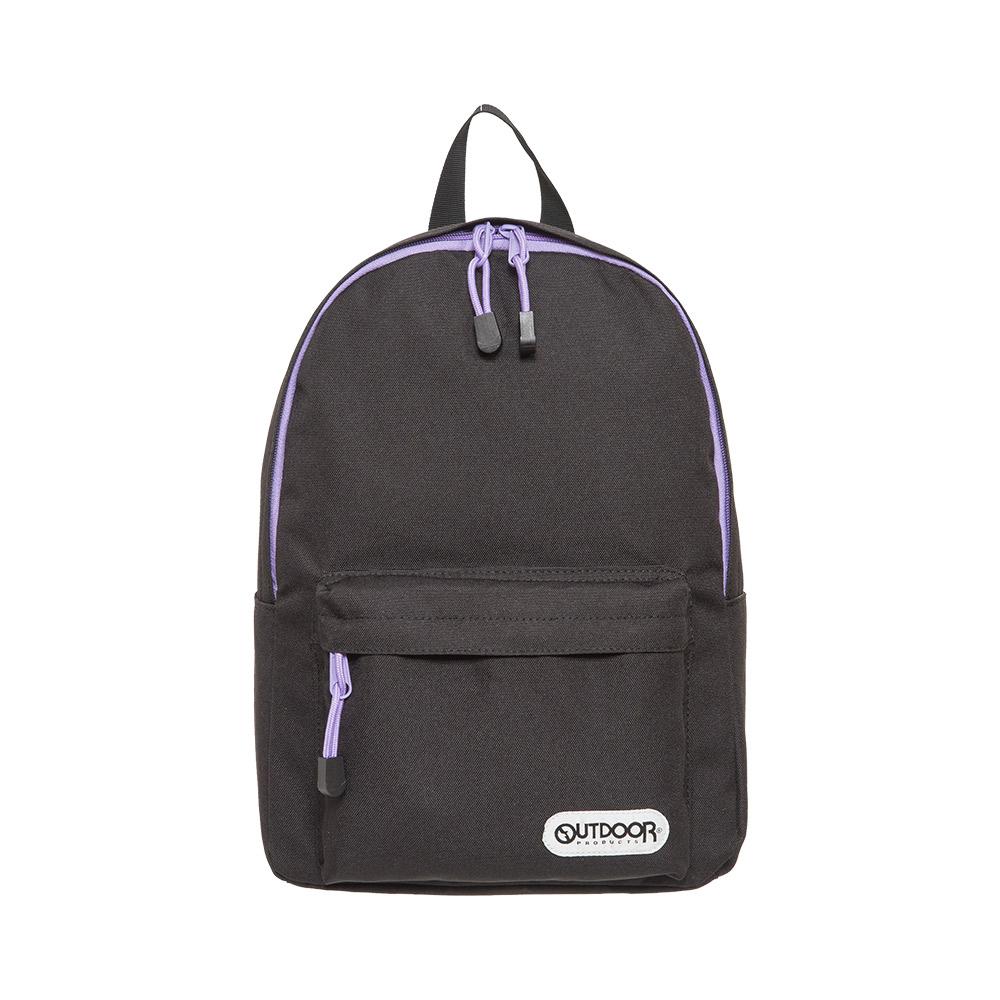 【OUTDOOR】玩色系列-後背包-黑/紫色 OD101128BKL