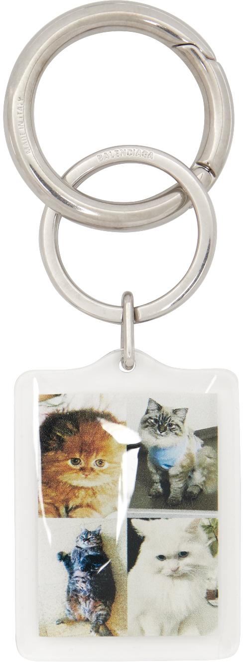 Balenciaga 多色 I LOVE PETS 胶囊系列 Cats 钥匙扣