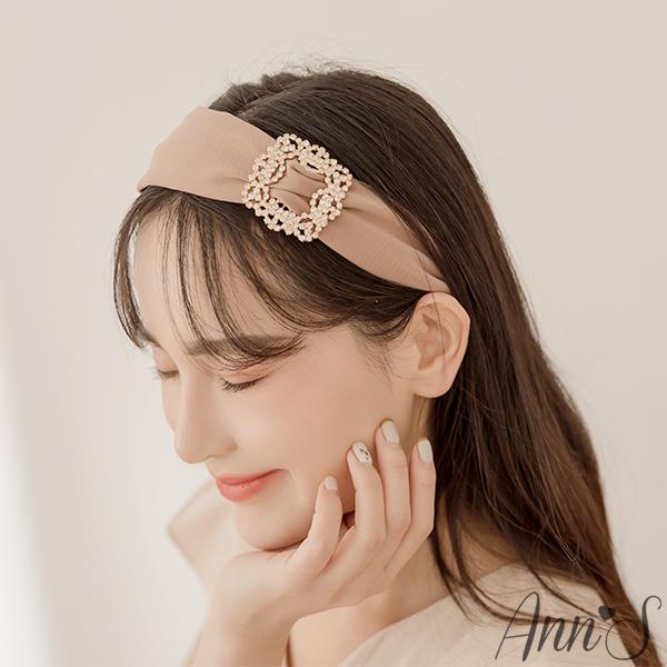 Ann'S名媛氣質方鑽髮箍