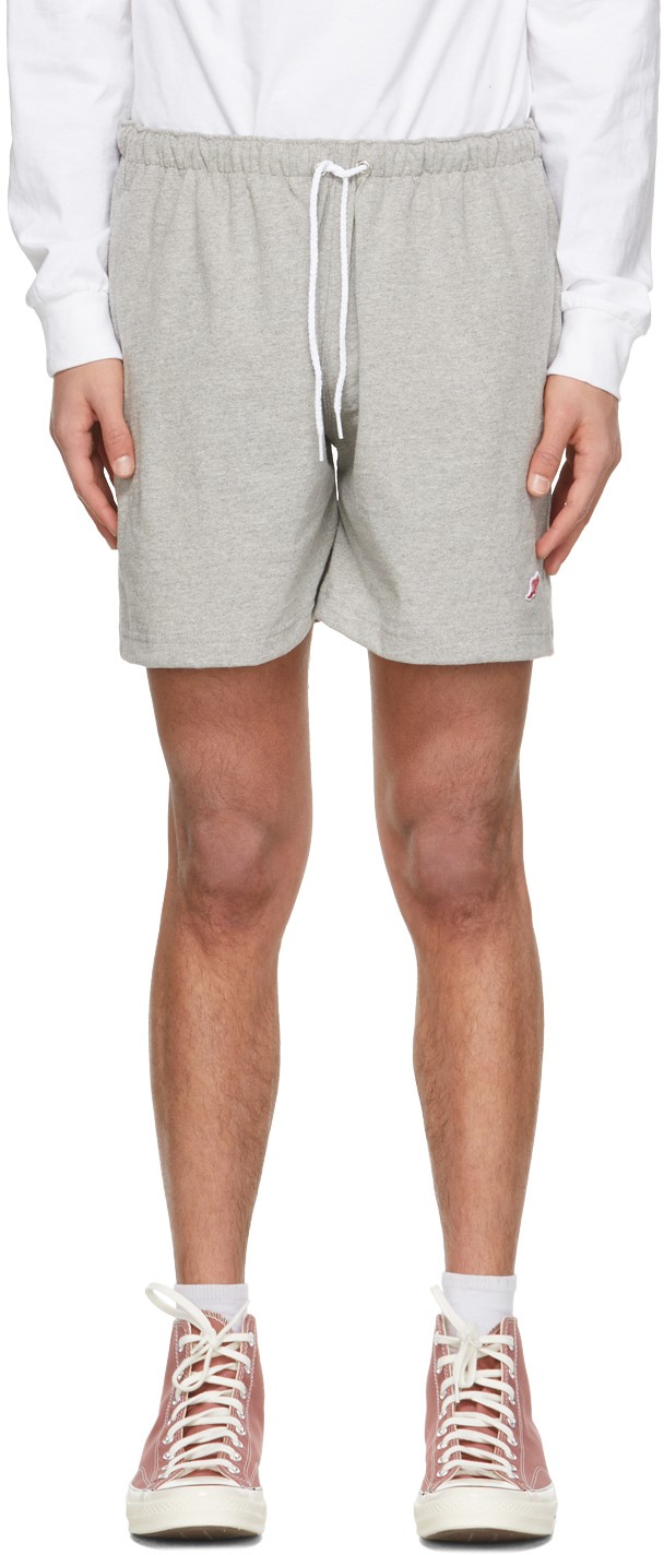 Noah NYC 灰色 Winged Foot Rugby 短裤