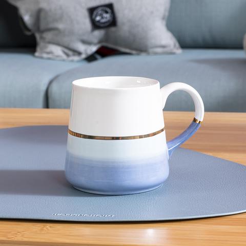 蘊韻微光馬克杯300ML-水藍