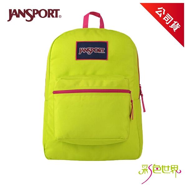 JANSPORT後背包校園背包 搖擺森巴 JS-43502-04L 彩色世界