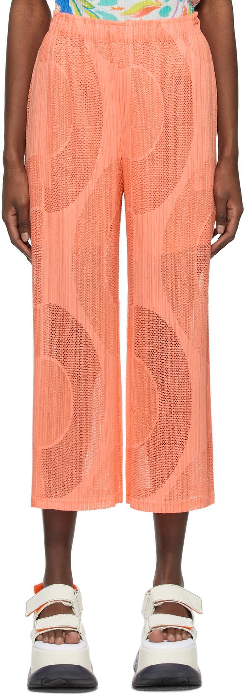 Pleats Please Issey Miyake 粉色 Swim Ring 长裤