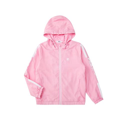 FILA KIDS 平織外套-粉紅 1JKU-8307-PK