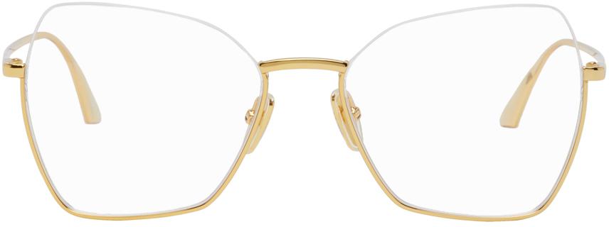 Balenciaga 金色猫眼眼镜