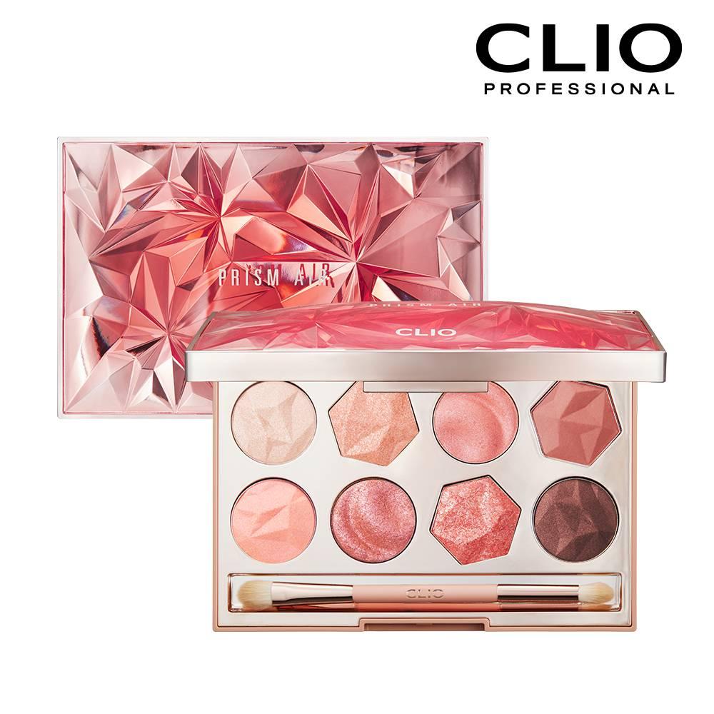 CLIO珂莉奧 稜鏡寶石八色眼影盤 02粉紅碧璽 【康是美】