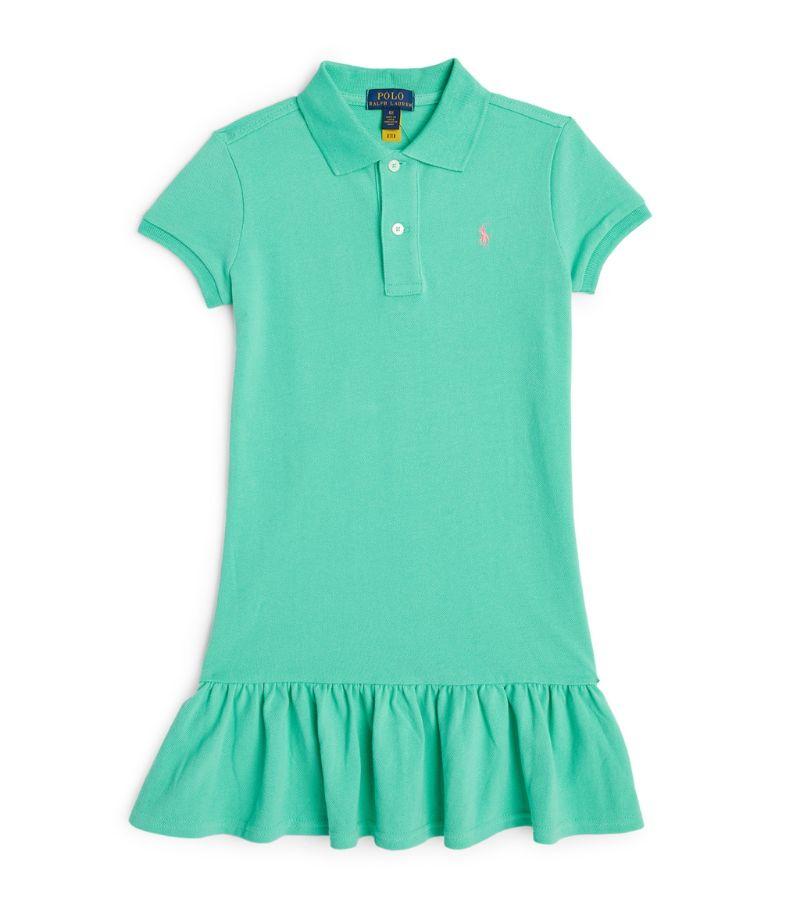 Ralph Lauren Kids Cotton Polo Dress (7-14 Years)