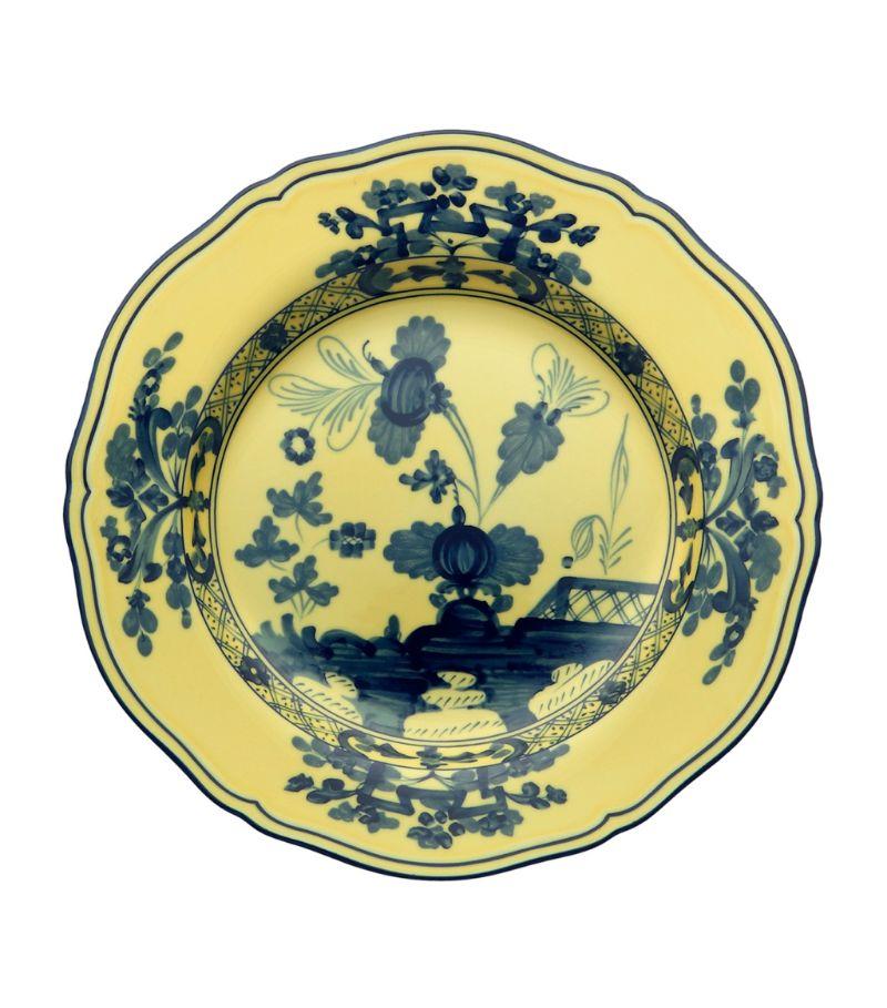Ginori 1735 Oriente Italiano Citrino Dessert Plate (21Cm)