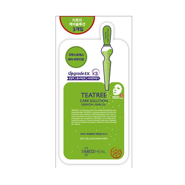 MEDIHEAL美迪惠爾 茶樹舒緩護理保濕導入精華面膜(3入)【康是美】