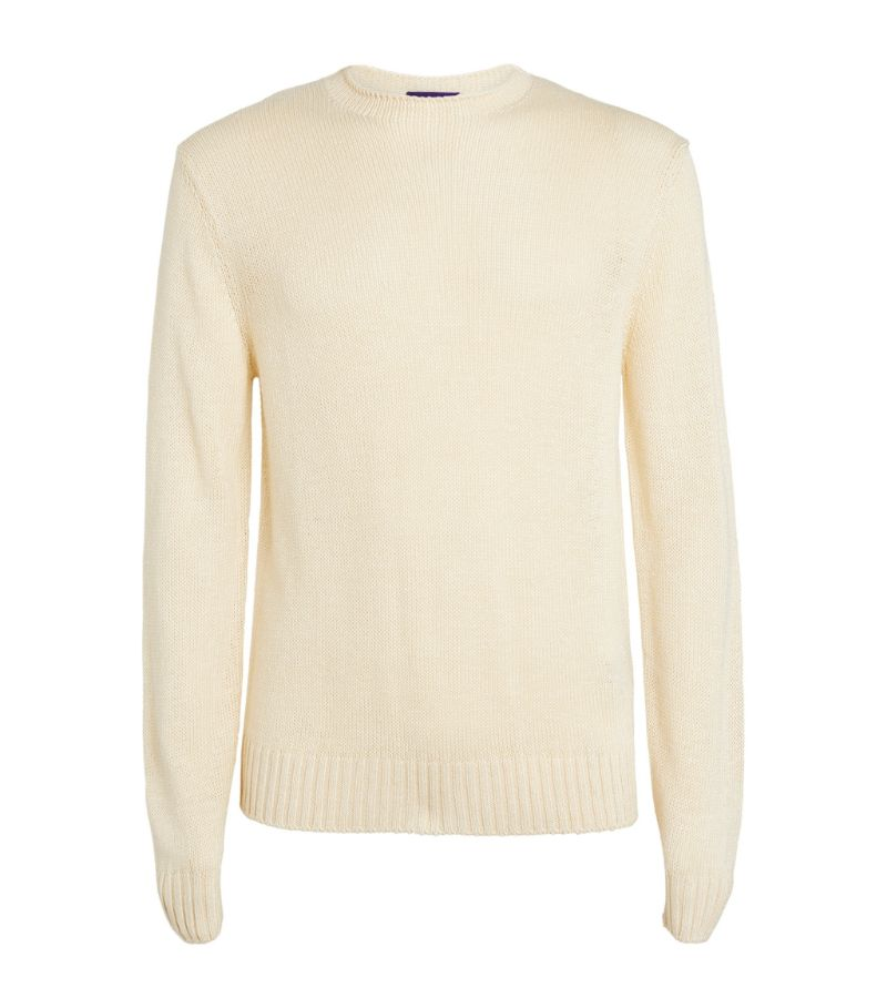 Ralph Lauren Purple Label Silk-Linen Sweater