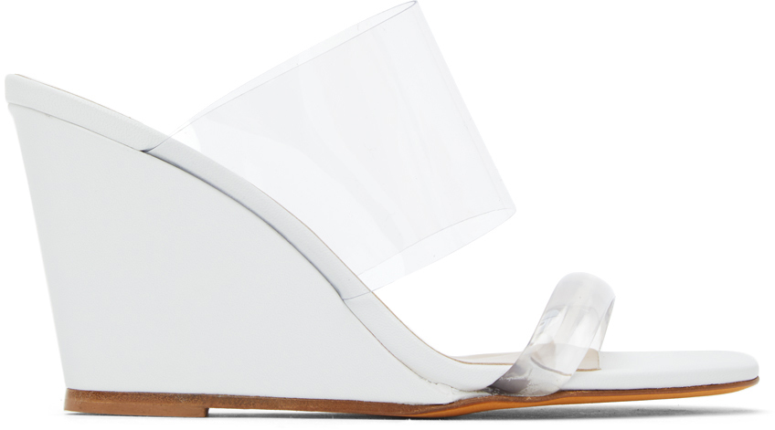 Maryam Nassir Zadeh 白色 Olympia 凉鞋
