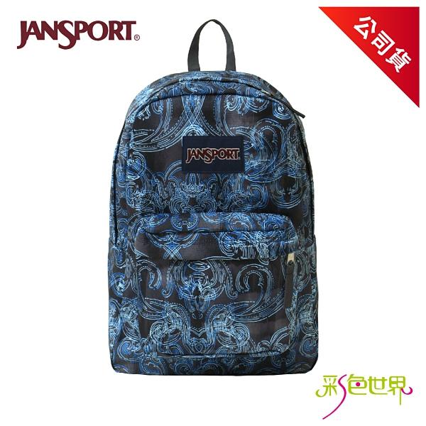 JANSPORT後背包校園背包 漩渦 JS-43501-0JP 彩色世界